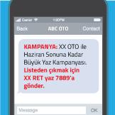 Toplu SMS Gönderiminde Yeni Dönem
