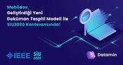 Yeni Doküman Tespiti Modelimiz ile SIU2020 Konferansındayız!