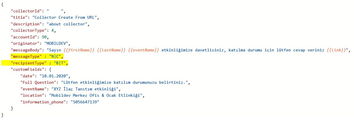 Mobildev Anket API Servislerinde Güncellemeler